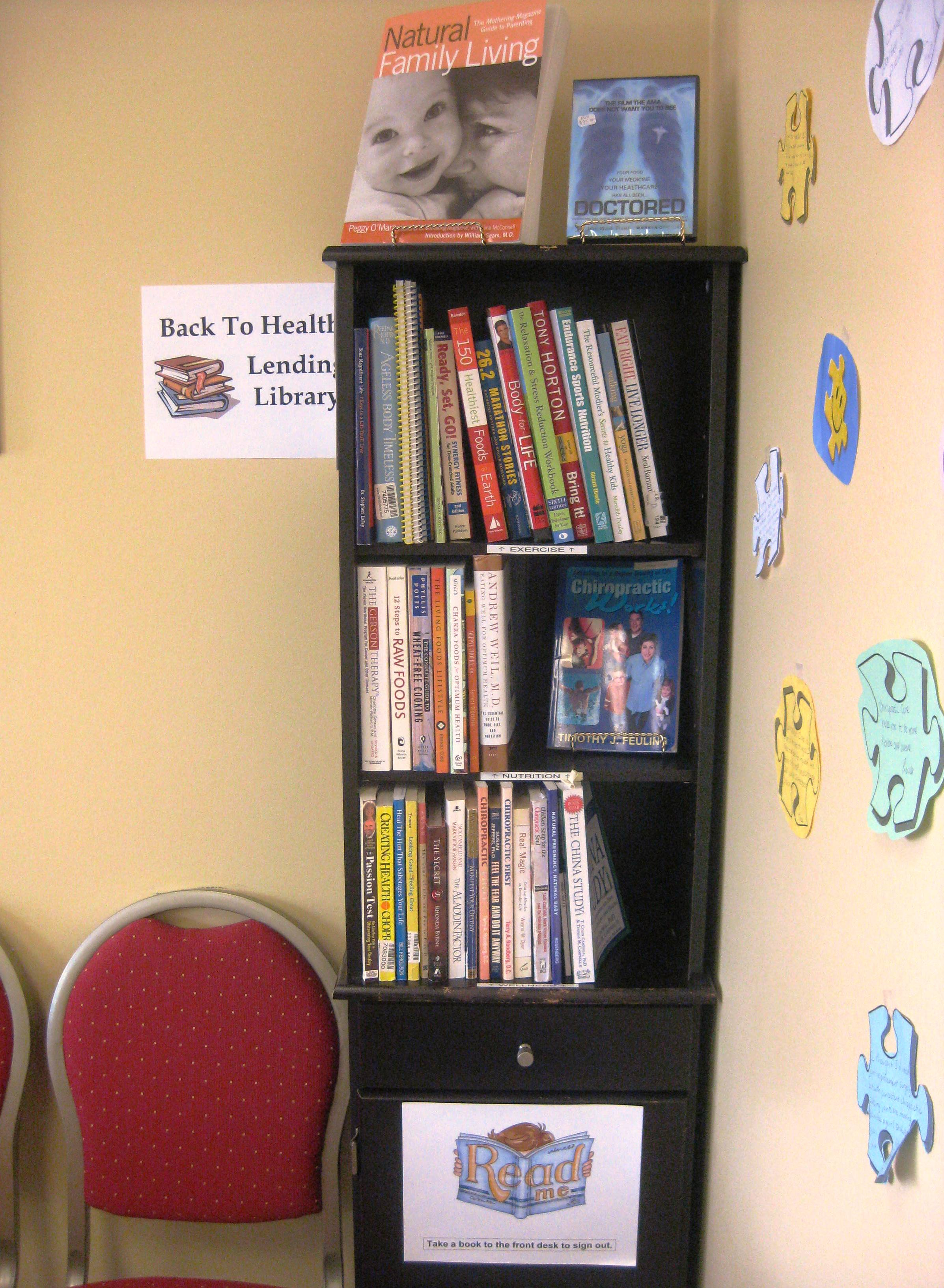 Lending-Library-Chiropractic-Maple-Vaughan